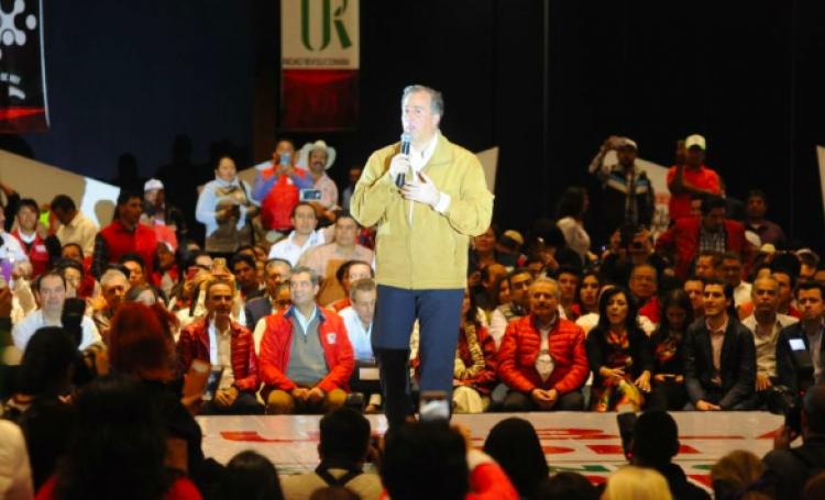 José Antonio Meade realiza campaña por Puebla