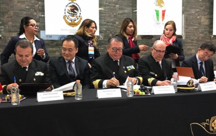 Convenio de cooperación académica en educación náutica surge entre México y China