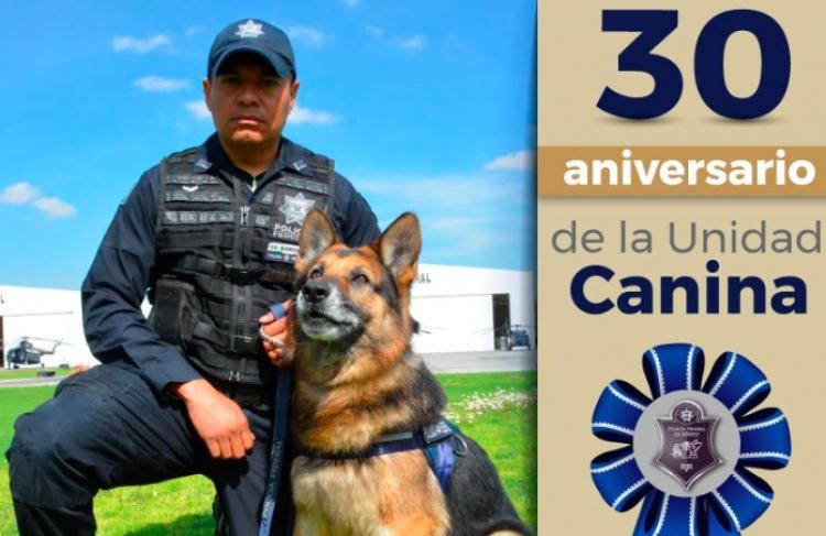 Así celebró Policía Federal 30 años de su Unidad Canina