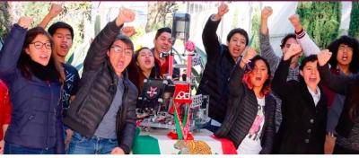 Politécnicos representarán a México en competencia mundial de robótica.