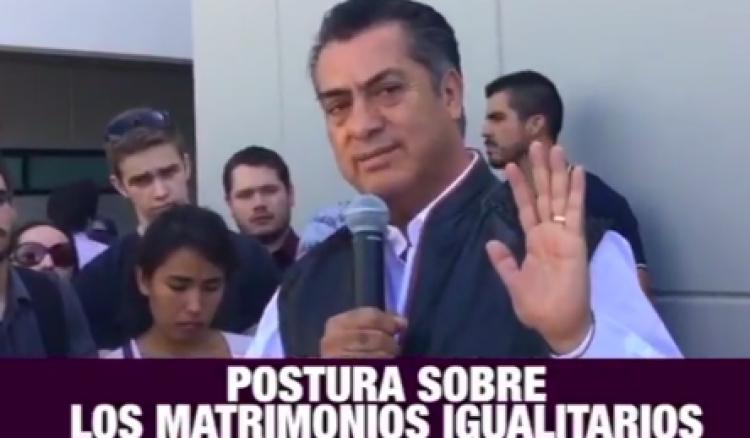 Esta es la opinión de Jaime Rodríguez Calderón ante matrimonios igualitarios