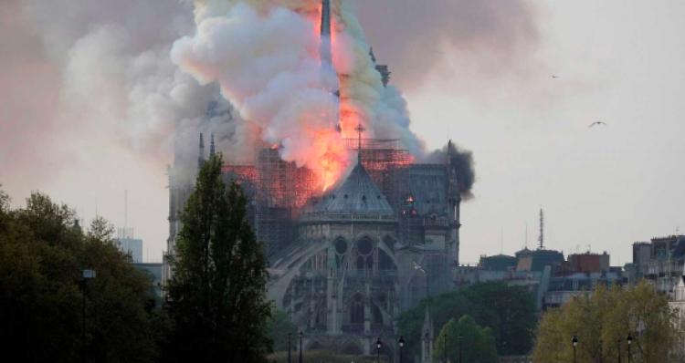 Incredulidad y tristeza ante incendio de la catedral de Notre Dame: Vaticano