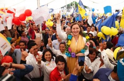 Martha Erika se comprometió a construir el libramiento Huixcolotla a la autopista Puebla-Orizaba