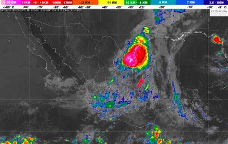 Continuará el clima lluvioso en gran parte del país