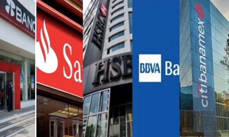 Citibanamex, Santander, Banorte, Bancomer y HSBC son los bancos con más reclamaciones: CONDUSEF