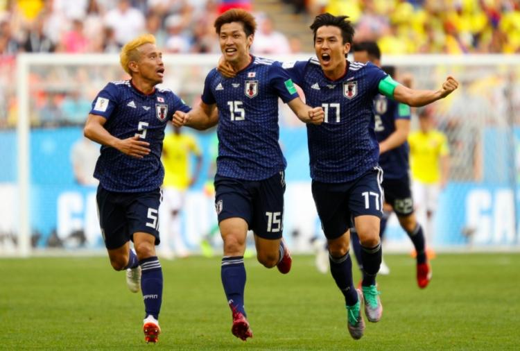 Derrota Japón a Colombia 2 - 1