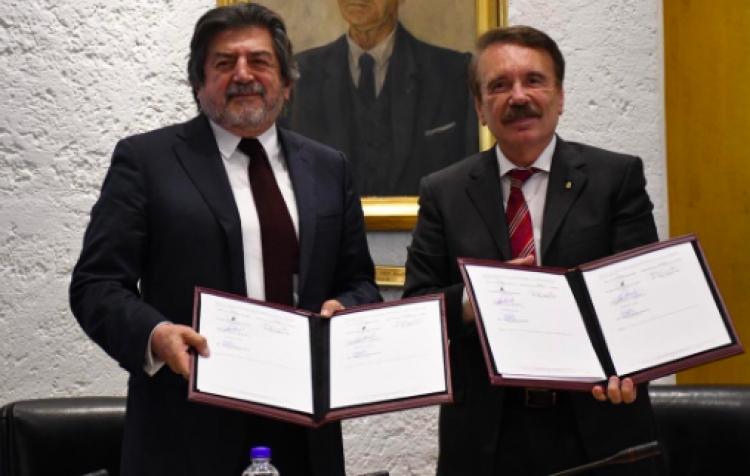 IPN firma convenio para participar en construcción del Tren Maya