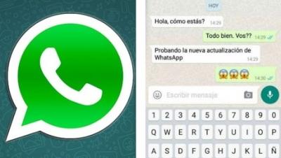 WhatsApp agregará elementos de iOS a Android.