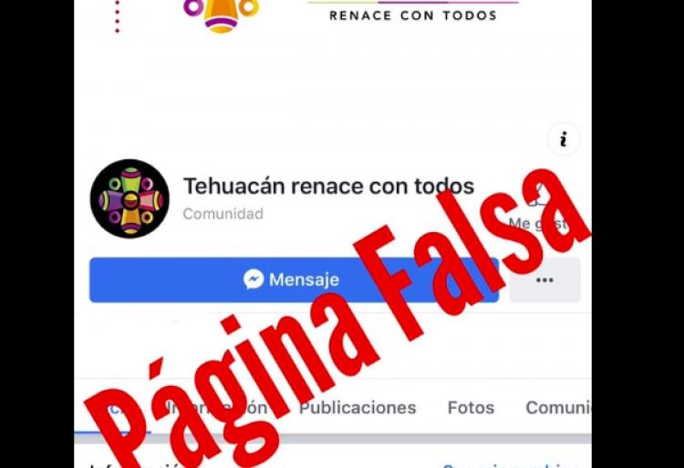 Tehuacán evidencia cuentas falsas en redes sociales de su administración