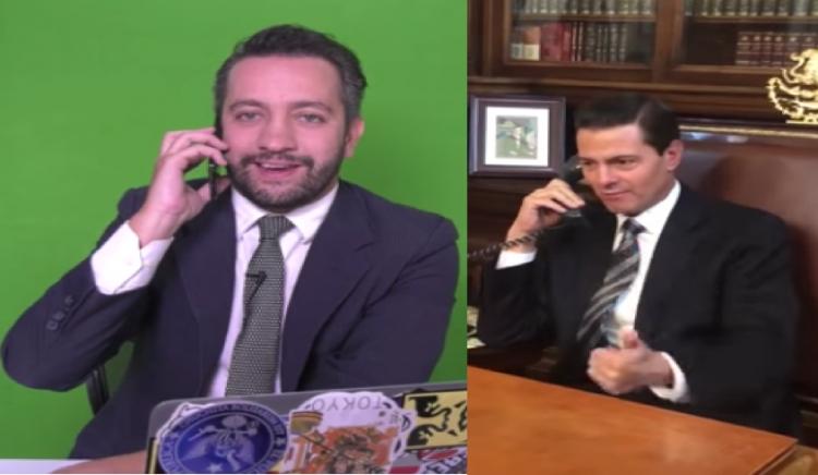 EPN se despide de Chumel Torres por teléfono