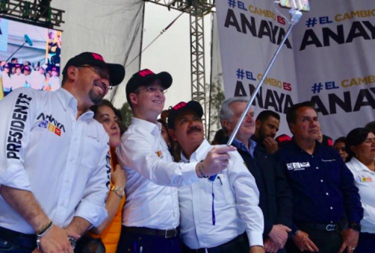 Ricardo Anaya realizó cierre en Nezahualcóyotl