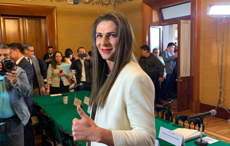 Ana Gabriela Guevara tomó protesta como directora de la Conade